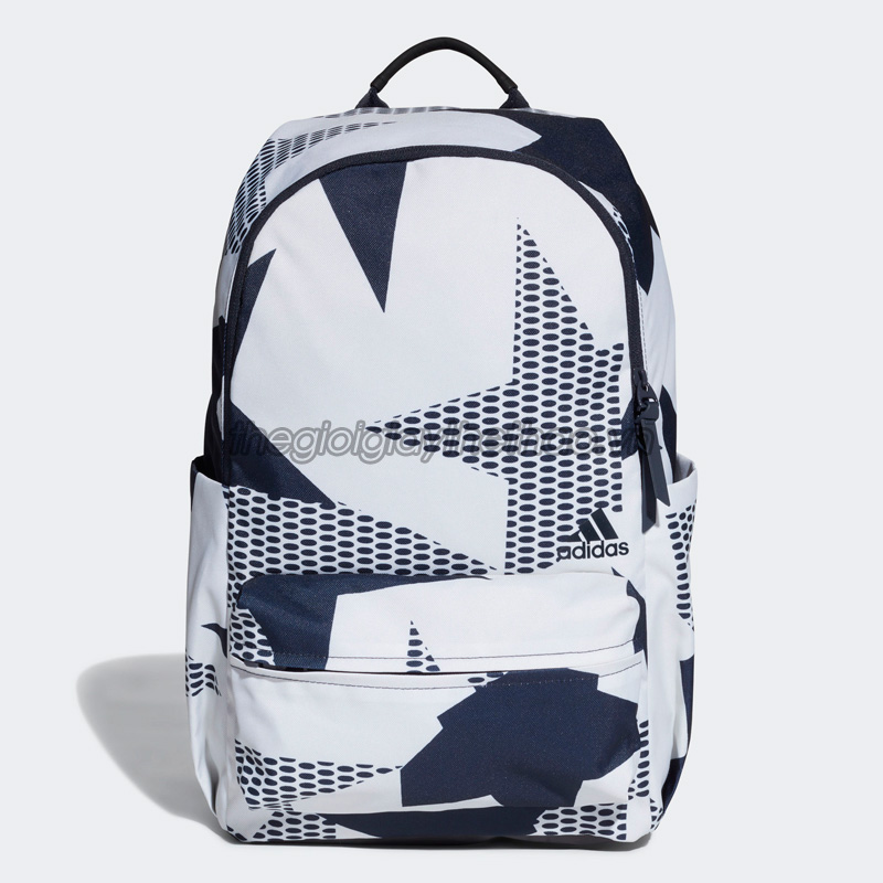 Balo adidas Classic ID Graphic Backpack - White - DT4065 1