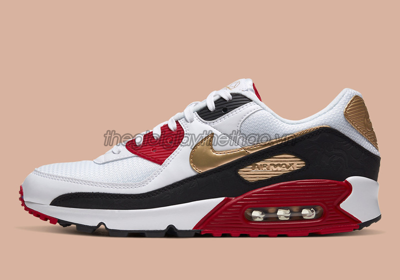 Giày Nike Air Max 90 Chinese New Year 2020 CU3005-171 7