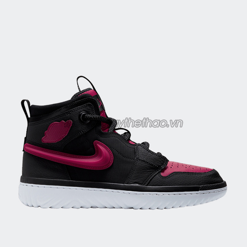 Giày Nike Jordan 1 High React Black Noble Red AR5321-006 1