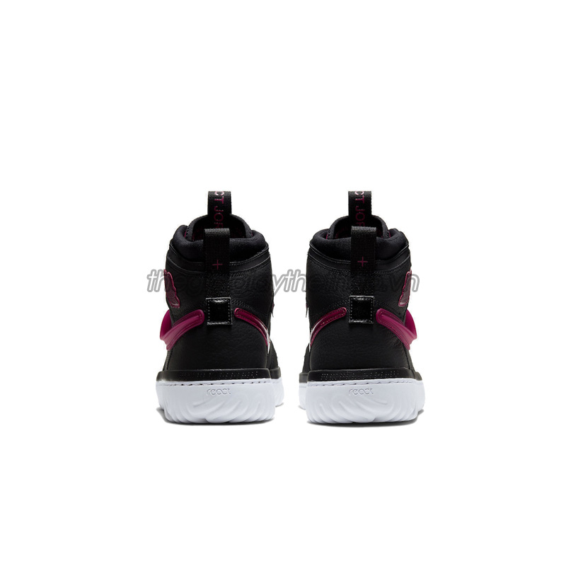 Giày Nike Jordan 1 High React Black Noble Red AR5321-006 2