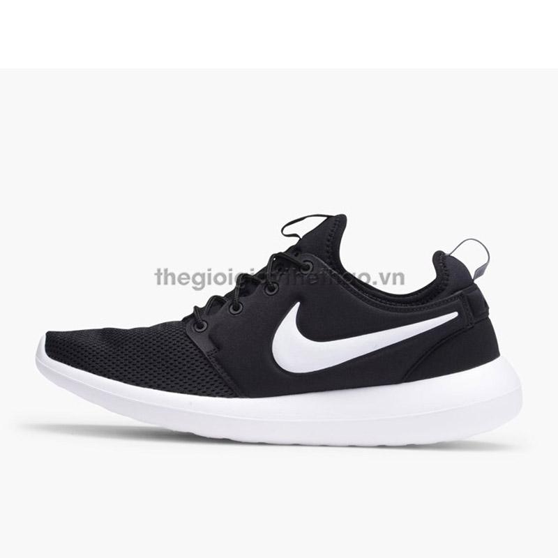 sports shoes 32282 57fb0 spain nike roshe one triple black 2 img 3fd87 5761c  reduced giày nike  roshe run two c6902 436a2