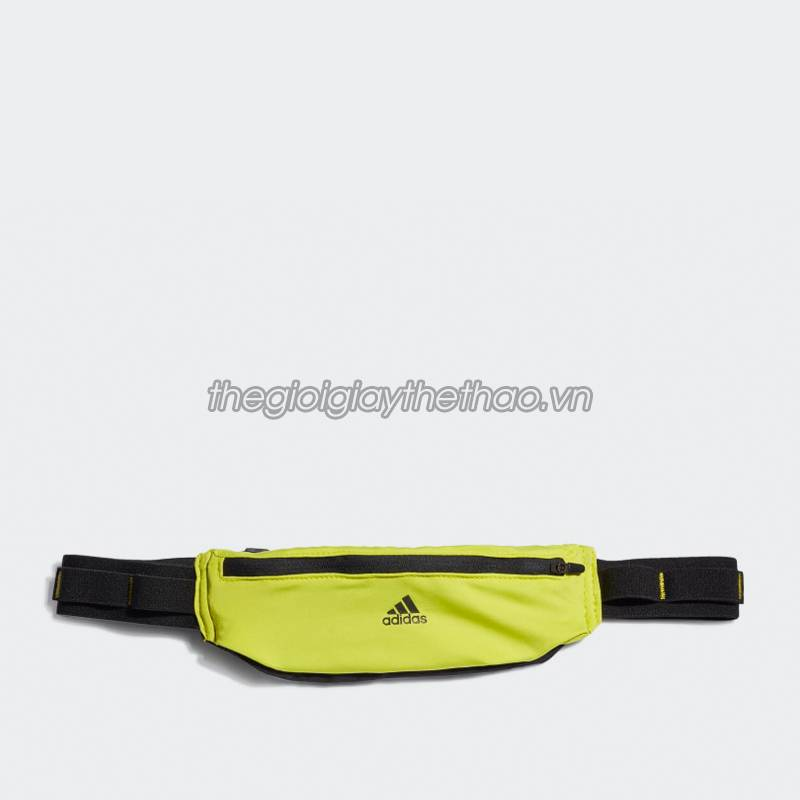 TÚI ĐEO NGANG ADIDAS RUN BELT BLACK/ACIYEL