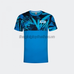 Áo Puma Summer Pack AOP Tee Blue​