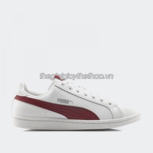 Giày Puma Smash L Puma White-Tibetan Red