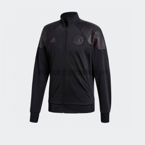 Áo adidas Manchester United Icon Track Jacket - Black