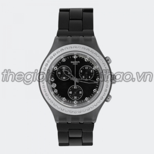 Đồng hồ Swatch Chrono Full Blooded Stoneheart Silver Aluminum SVCM4009AG