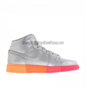 Giày Nike Air Jordan 1 Mid Sunrise GS - 555112-006