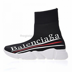Giày Balenciaga Speed stretch-knit Three LOGO