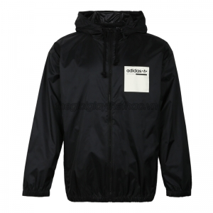 Áo nam Adidas Windbreaker Black Hoody Jacket DT0940