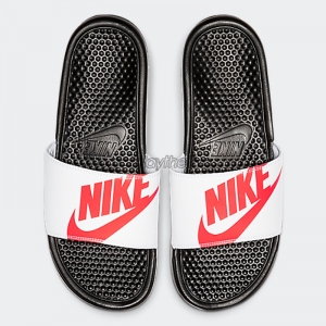 DÉP NIKE BENASSI JDI PRINT RED WHITE BLACK 631261-029