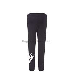 Quần Nike Just Do It Leg A See LOGO Tights Running Fitness Black