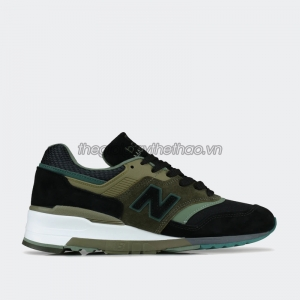 Giày New Balance 997 Black Green - M997PAA